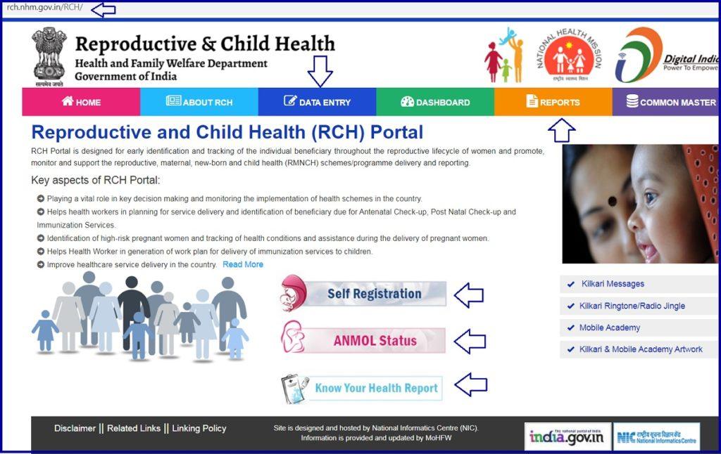 RCH Portal